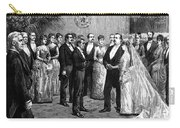 Cleveland Wedding, 1886 Carry-all Pouch