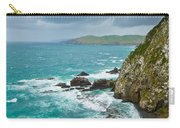 Cliffs Under Thunder Clouds And Turquoise Ocean Carry-all Pouch