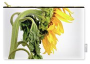 Close Up Of Sunflower. Carry-all Pouch