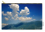 Clouds And Mountain Carry-all Pouch