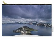 Clouds Over Crater Lake Carry-all Pouch