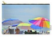 Coast Guard Beach Umbrellas Carry-all Pouch
