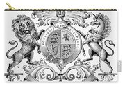 Coat Of Arms: Great Britain Carry-all Pouch