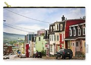 Colorful Houses In Newfoundland Carry-all Pouch