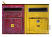 Colorful Mailboxes Carry-all Pouch