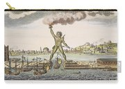 Colossus Of Rhodes Carry-all Pouch by Granger