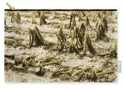 Cornfield After Hailstorm Carry-all Pouch
