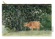 Cow In Pasture Carry-all Pouch