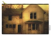 Creepy Abandoned House Carry-all Pouch by Jill Battaglia