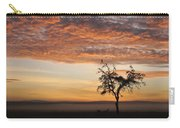 Crowned Cranes At Sunrise Carry-all Pouch