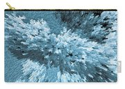 Crystal Flowers Carry-all Pouch