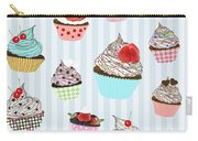 Cupcake  Carry-all Pouch by Setsiri Silapasuwanchai