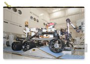 Curiosity Rover In The Testing Facility Carry-all Pouch