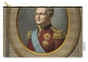 Czar Alexander I Of Russia Carry-all Pouch
