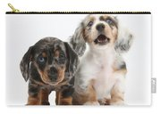 Dachshund Puppies Carry-all Pouch