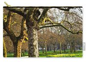 Daffodils In St. James's Park Carry-all Pouch by Elena Elisseeva