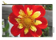 Dahlia Named Pooh Carry-all Pouch