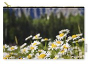 Daisies At Mount Robson Provincial Park Carry-all Pouch