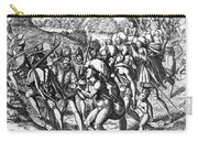 De Bry: Spanish Conquest Carry-all Pouch