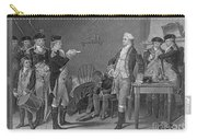 Death Warrant Of Major John Andre, 1780 Carry-all Pouch by Photo Researchers