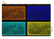 Declaration Of Independence In Quad Colors Carry-all Pouch by Rob Hans