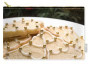 Decorated Cookies In Festive Setting Carry-all Pouch