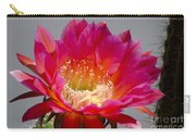 Deep Pink Cactus Flower Carry-all Pouch