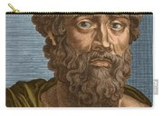 Demosthenes, Ancient Greek Orator Carry-all Pouch by Photo Researchers