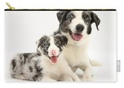 Dog And Puppy Carry-all Pouch