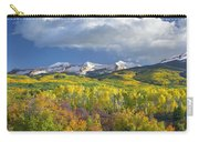East Beckwith Mountain Flanked By Fall Carry-all Pouch