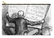 Election Cartoon, 1876 Carry-all Pouch by Granger