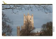 Ely Cathedral In City Of Ely Carry-all Pouch