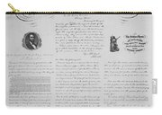 Emancipation Proclamation Carry-all Pouch