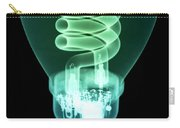 Energy Efficient Light Bulb Carry-all Pouch by Ted Kinsman
