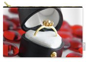 Engagement Ring Carry-all Pouch by Carlos Caetano