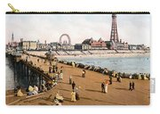 England: Blackpool, C1900 Carry-all Pouch