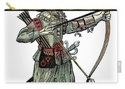 English Archer, 1634 Carry-all Pouch