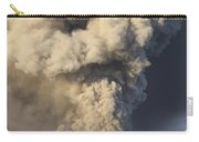 Eruption Of Ash Cloud From Mount Bromo Carry-all Pouch