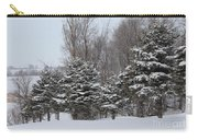 Evergreen Trees Carry-all Pouch