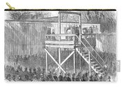 Execution Of Henry Wirz Carry-all Pouch