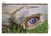 Eye Of A Dinosaur Lightning Carry-all Pouch