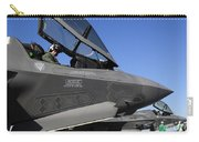 F-35b Lightning II Variants Are Secured Carry-all Pouch