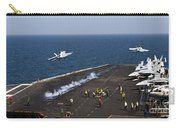 Fa-18f Super Hornets Launch Carry-all Pouch