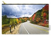 Fall Highway Carry-all Pouch by Elena Elisseeva