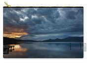 Fall Sunset Over Lake Pend Oreille Carry-all Pouch