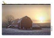 Farm Winter Sunrise Carry-all Pouch