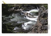 Fast Moving Firehole River Carry-all Pouch