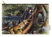 Father Jacques Marquette Carry-all Pouch by Granger