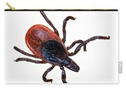 Female Blacklegged Tick Carry-all Pouch