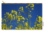 Field Of Rape In Bloom. Auvergne. France. Europe Carry-all Pouch